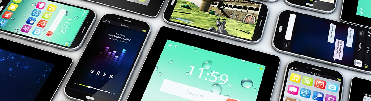 Mobile and tablet devices